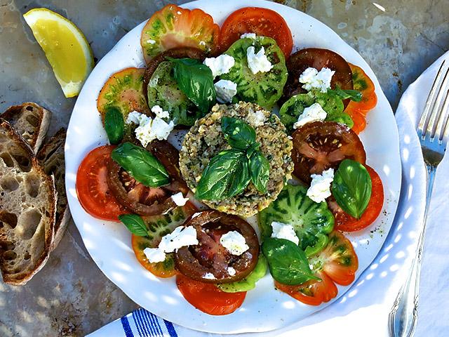 Sardinen Tatar Carpaccio 3 Tomaten