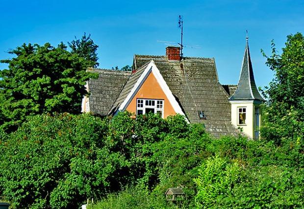 Villa Kunterbunt in Soeby Daenemark