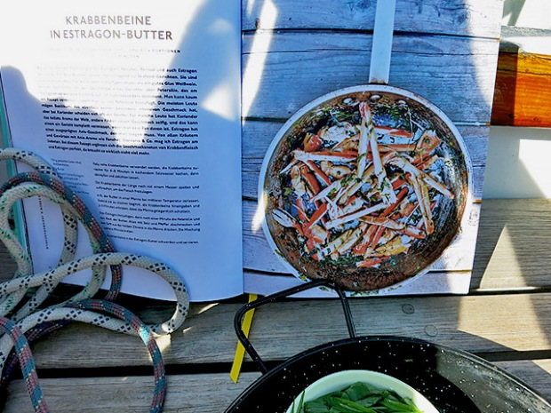 Estragon Garnelen mit Kochbuch Frischt gefischt