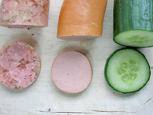 3 Zutaten für Wurstsalat