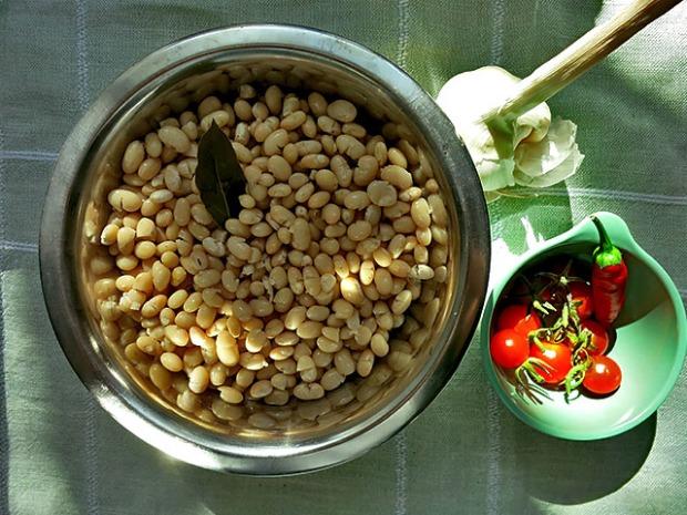 Trocken Bohnen richtig kochen