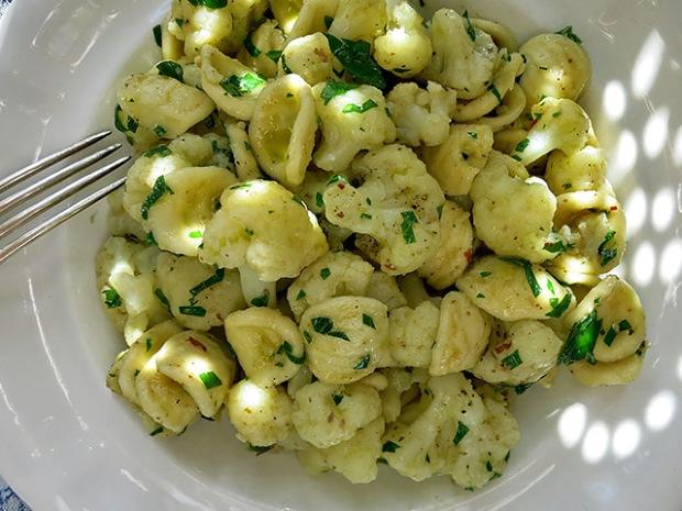 Orcchiette mit Blumenkohl Pasta