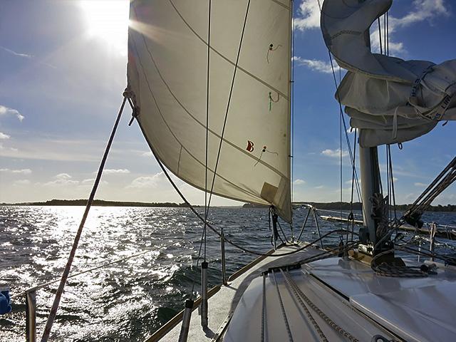 Segeln im Alsfjord