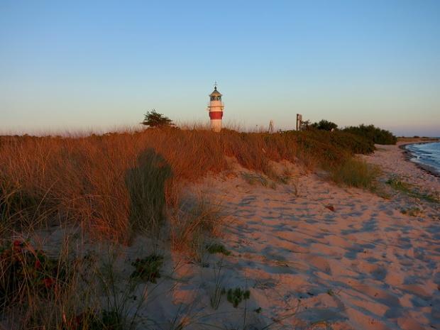 Leuchtturm Sunset Aaroe