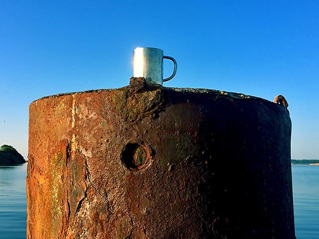 Segeln 2018 Morgen Kaffee