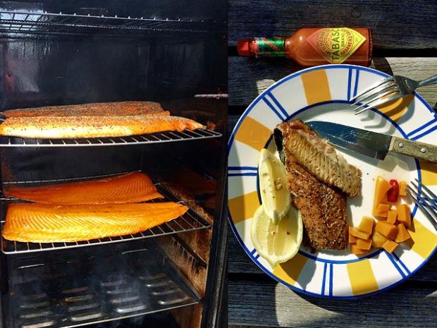 Räucherfisch mit Tabasco