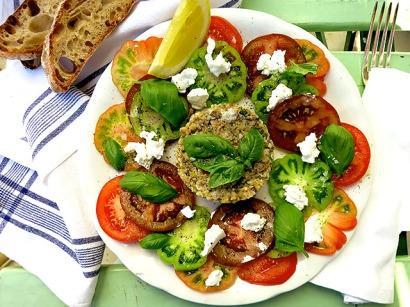 Tuna Tatar Tomaten