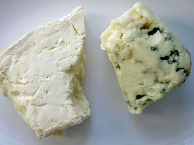 Roquefort und Weinbergkaese