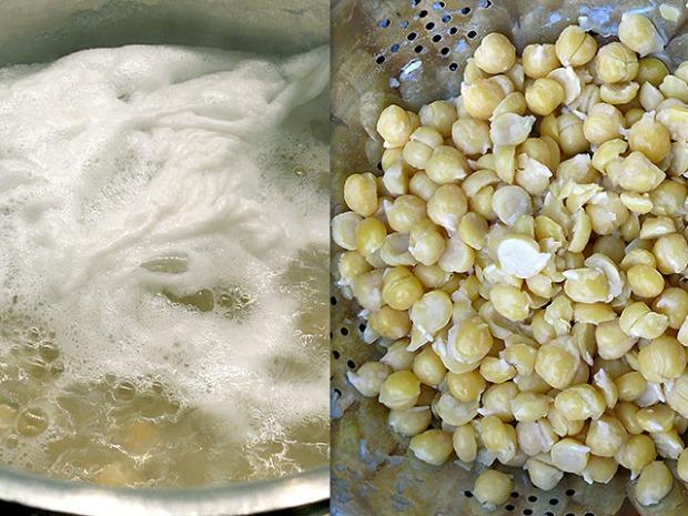 kichererbsen mit backpulver kochen effekt