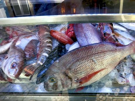 Fisch im Solar 31 da Calçada Lissabon