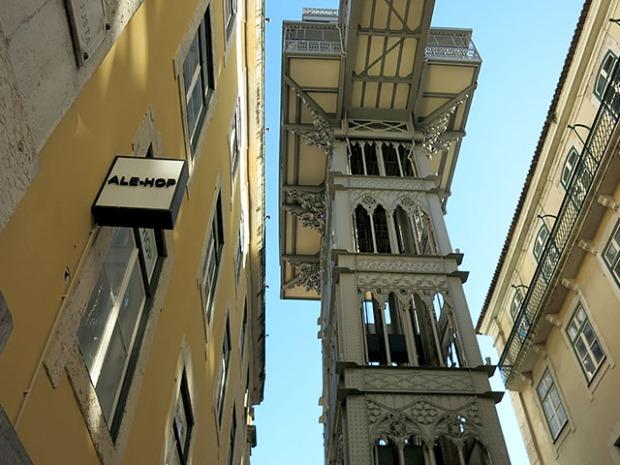 Lissabon Cascais Aufzug