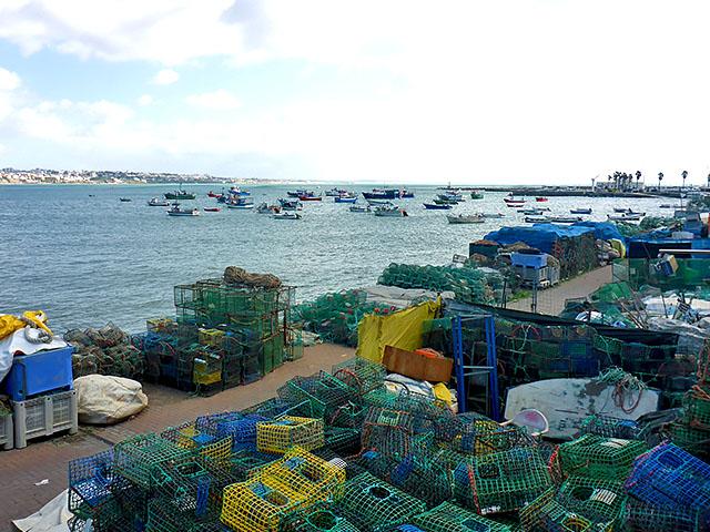 Lissabon Cascais Reusen Fischerhafen