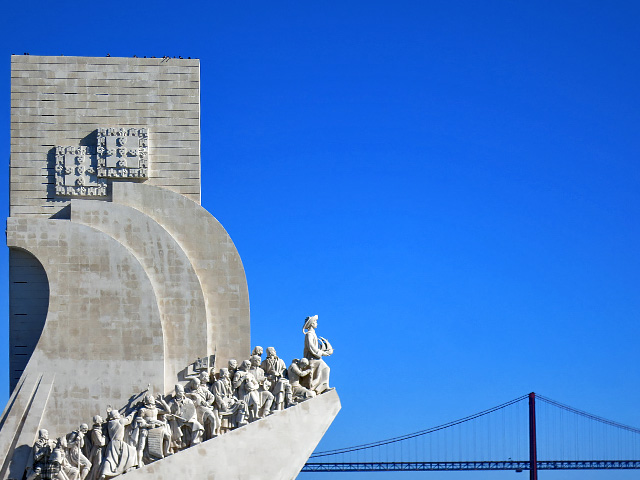 Denkmal der Entdeckungen Lisboa Belem