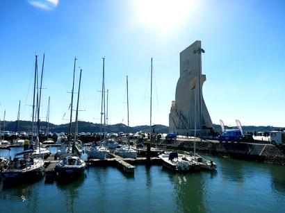 Lissabon Januar Marina Belém