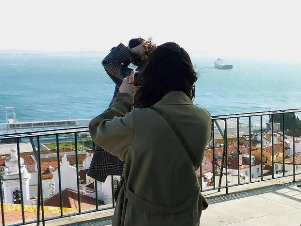 Lissabon Instagramer aus Japan