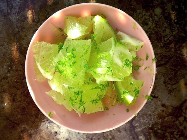 Miang Kham Thai Snack Limette mit Zesten