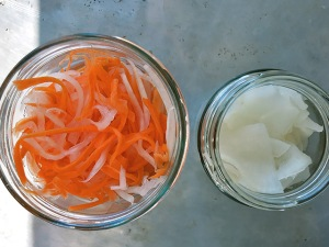 Vietnam Pickles im Glas Rezept