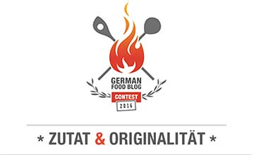 German Food Blog Contest logo
