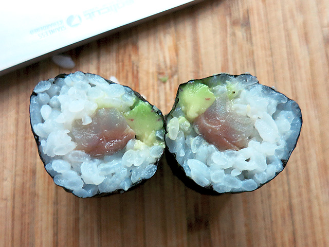 DIY Sushi Roll two