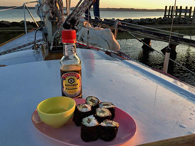 Maki Sushi schmeckt nach Meer
