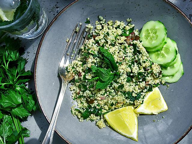 Tabouleh mit Couscous Salat