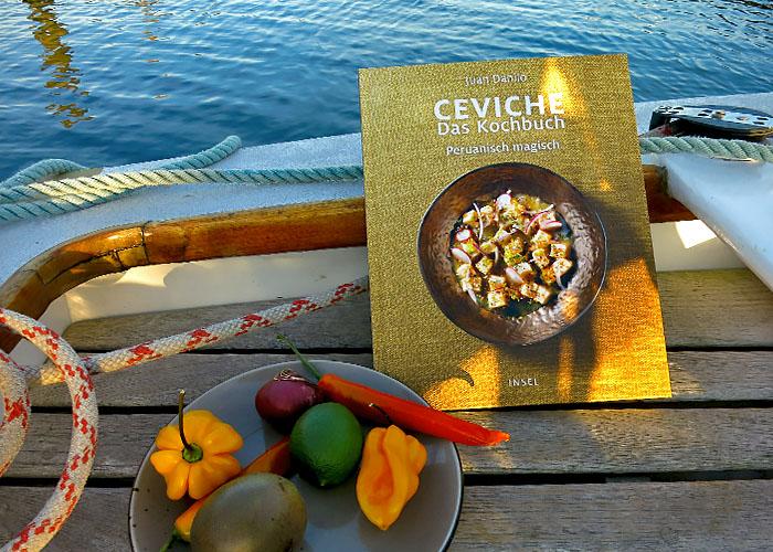 Ceviche Peruanisch Magisch mit Zutaten