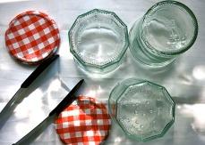 Gläser sterilisieren mit Wasserdampf
