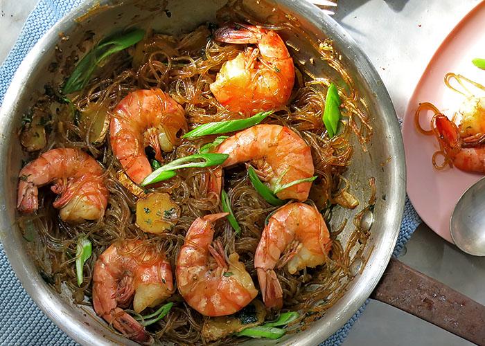Aromatischer Thai Ingwr Eintopf