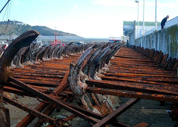 Alte Anker Thunfischfang Almadraba