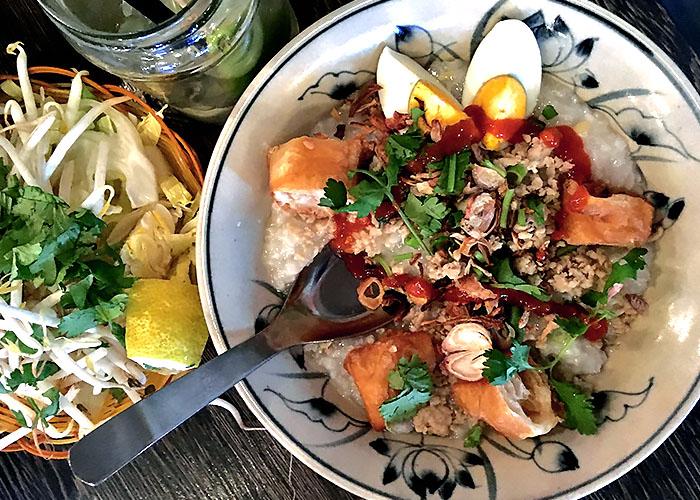 Chao Reis Porridge vietnam Beilagen