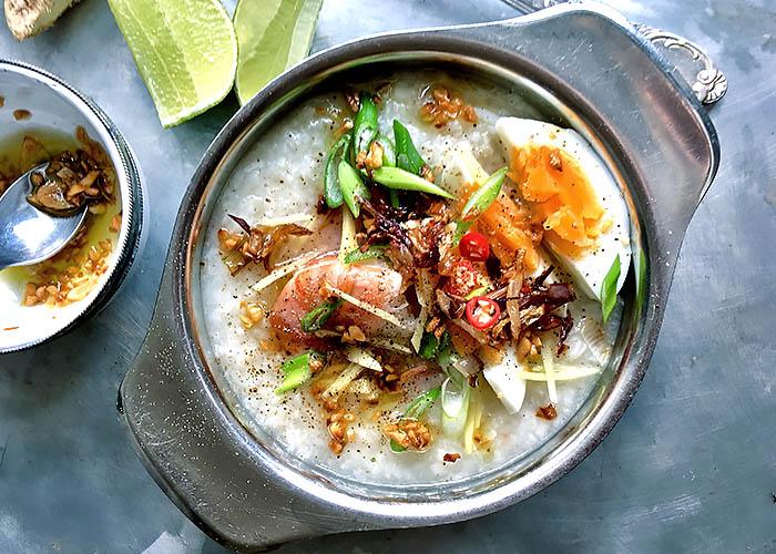 Thai Jok mit Garnele