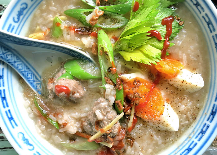 Thai Breakfast Jok Rezept