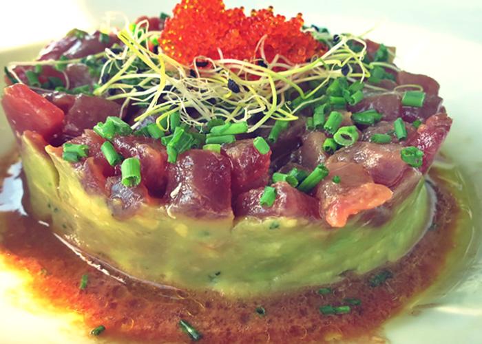 Thunfisch Tatar Tarifa asiatisch