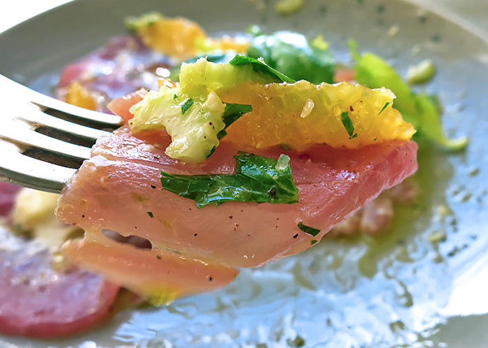 Yellowfin Tuna Sardisch