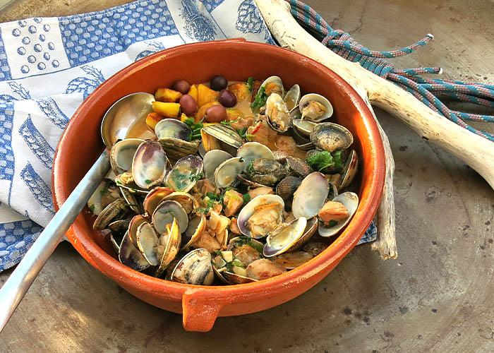 Fernwehküche aus Portugal: Carne Alentejo
