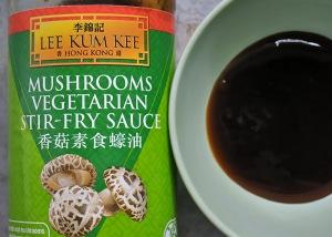 vegane Mushroom Sauce Austernsauce Ersatz