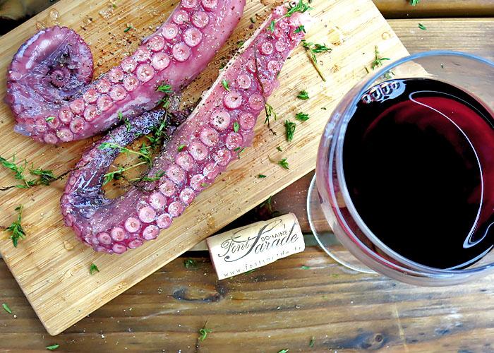 Rotwein zu BBQ Fisch?