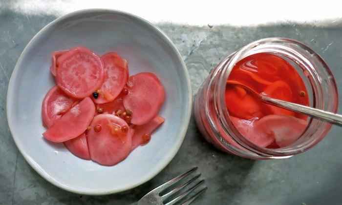 Radieschen Pickles süß sauer