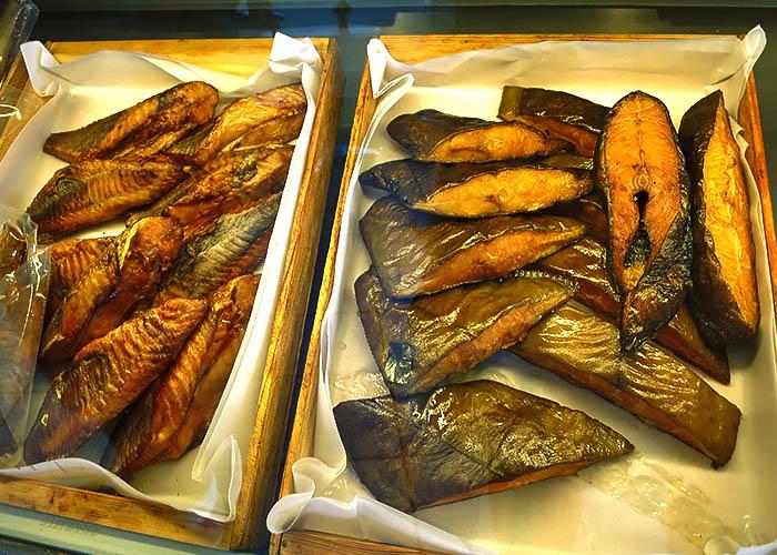 Dänsicher Räucherfisch