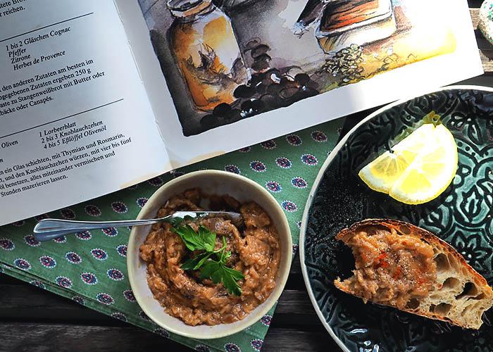 Auberginen Kaviar La cuisine provencale von Monique Lichtner