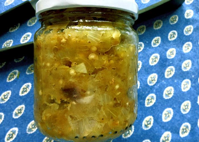 Caviar d' Aubergines lassen sich gut einkochen