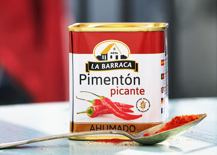 Pimenton Picante Paprikapulver Dose
