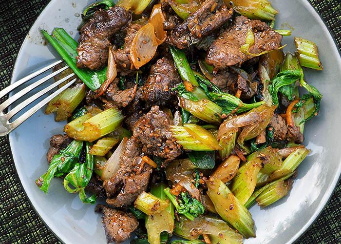 Beef Stirfry in 5 Minuten