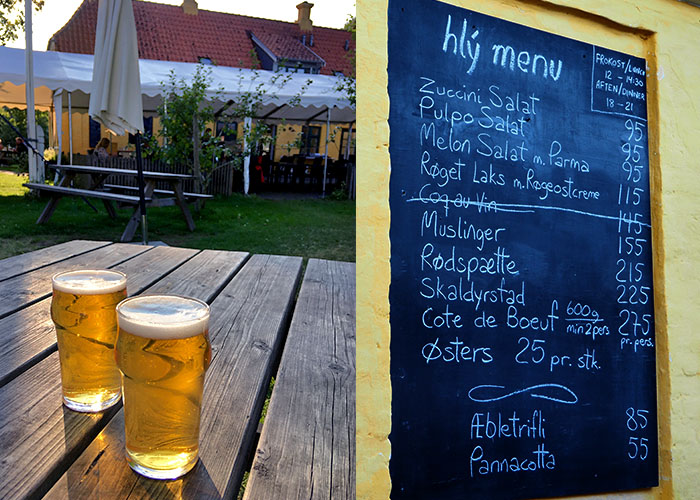Neue Gastronomie hlý auf Lyø