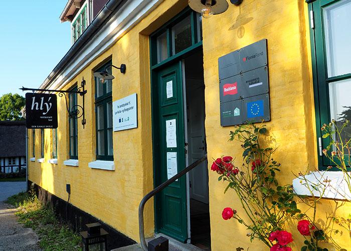 Café und Restaurant hlý Gamle Skole Lyø