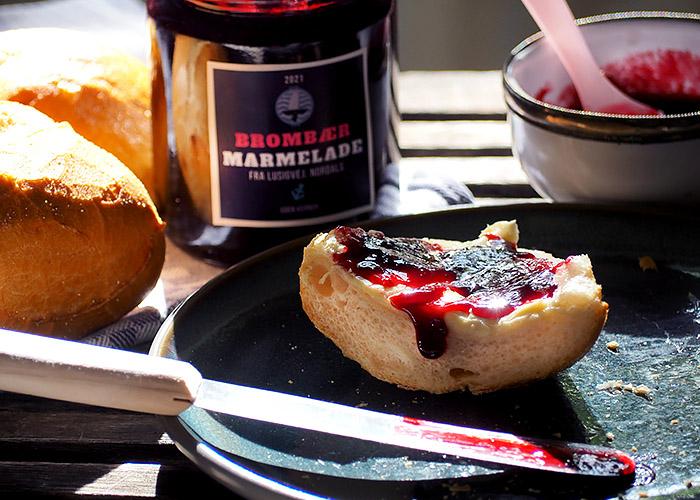 Brombeer Marmelade flüssig